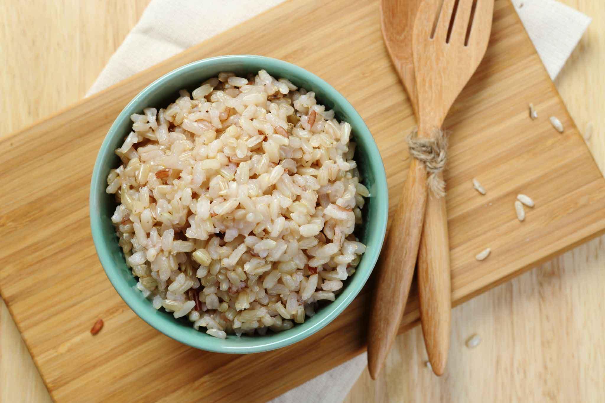 برنج قهوه ای مناسب دوران شیردهی | مرکز مهرپرور