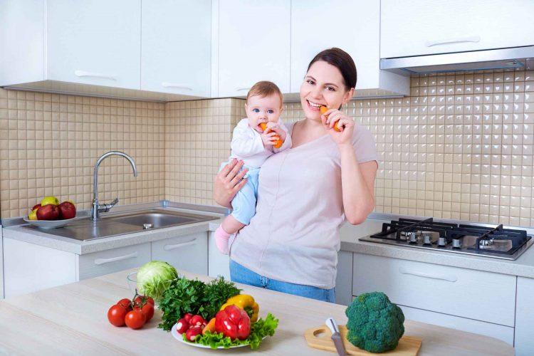 تغذیه مادران در دوران شیردهی | مرکز پارسیان مهرپرور
