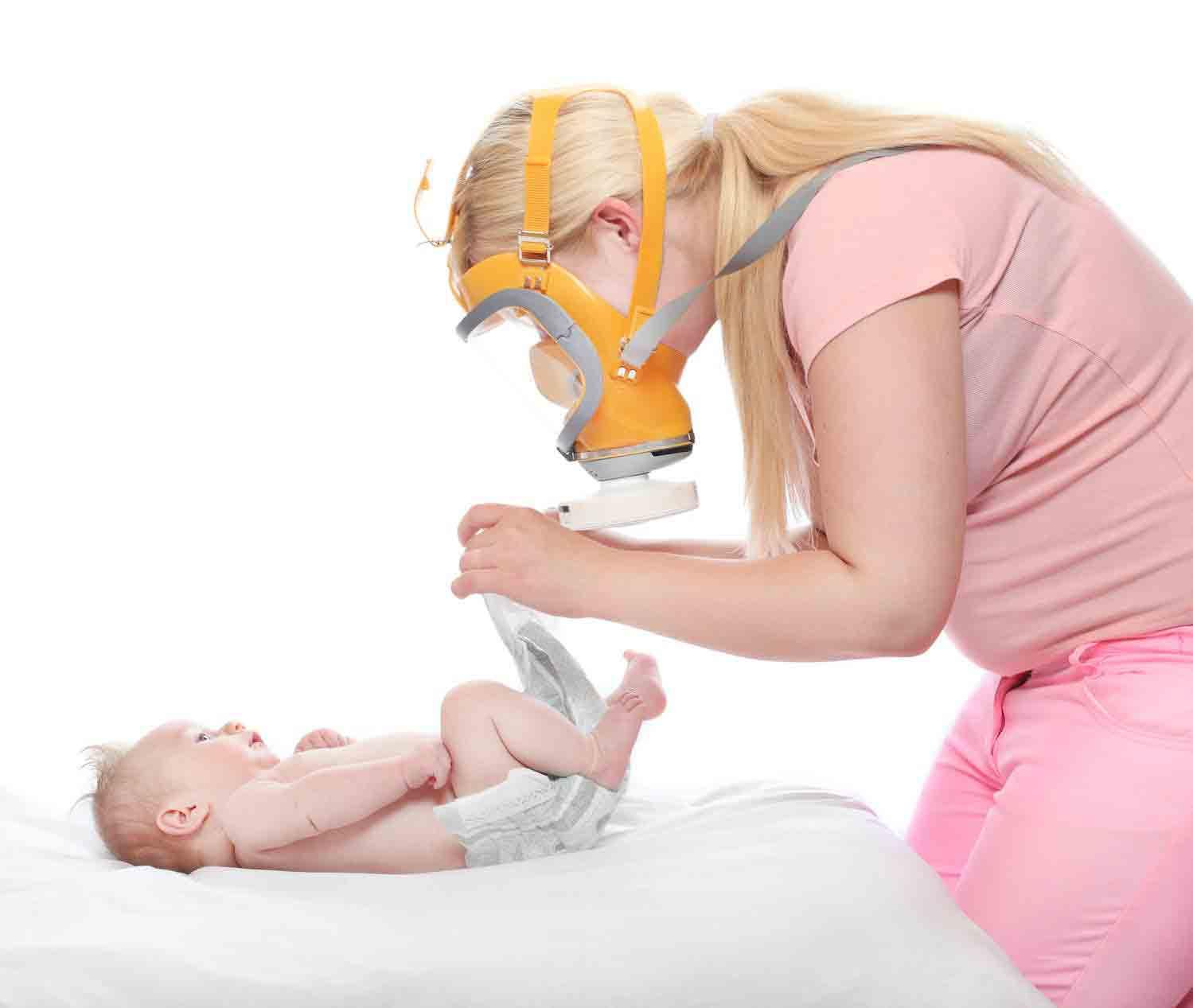 آموزش تعویض پوشک بچه | مرکز خدمات بالینی در منزل پارسیان مهرپرور