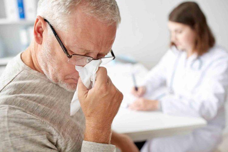 سرماخوردگی سالمندان | خدمات پرستاری پارسیان مهرپرور