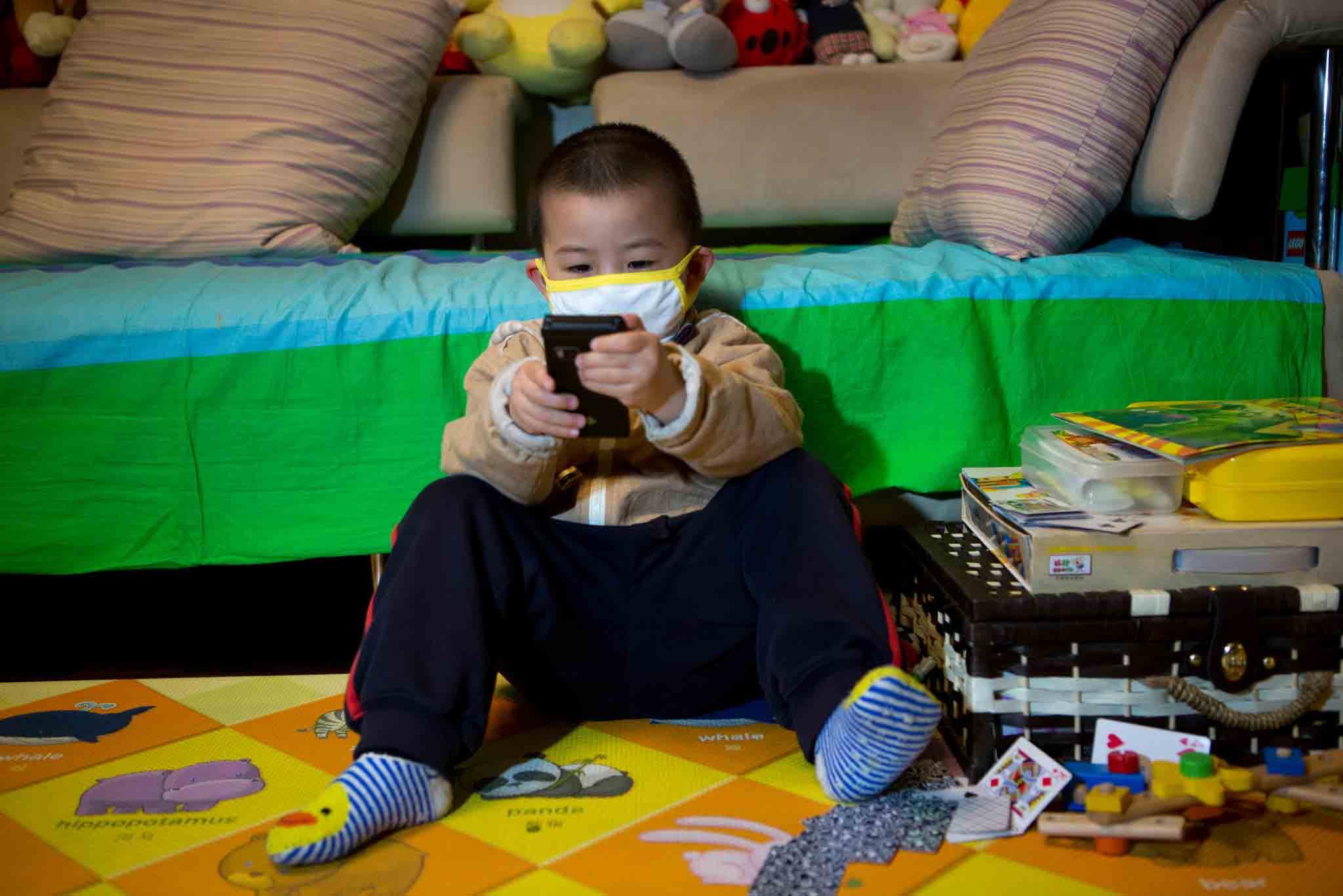 خانه ماندن کودکان در هوای آلوده  مرکز پارسیان مهرپرور