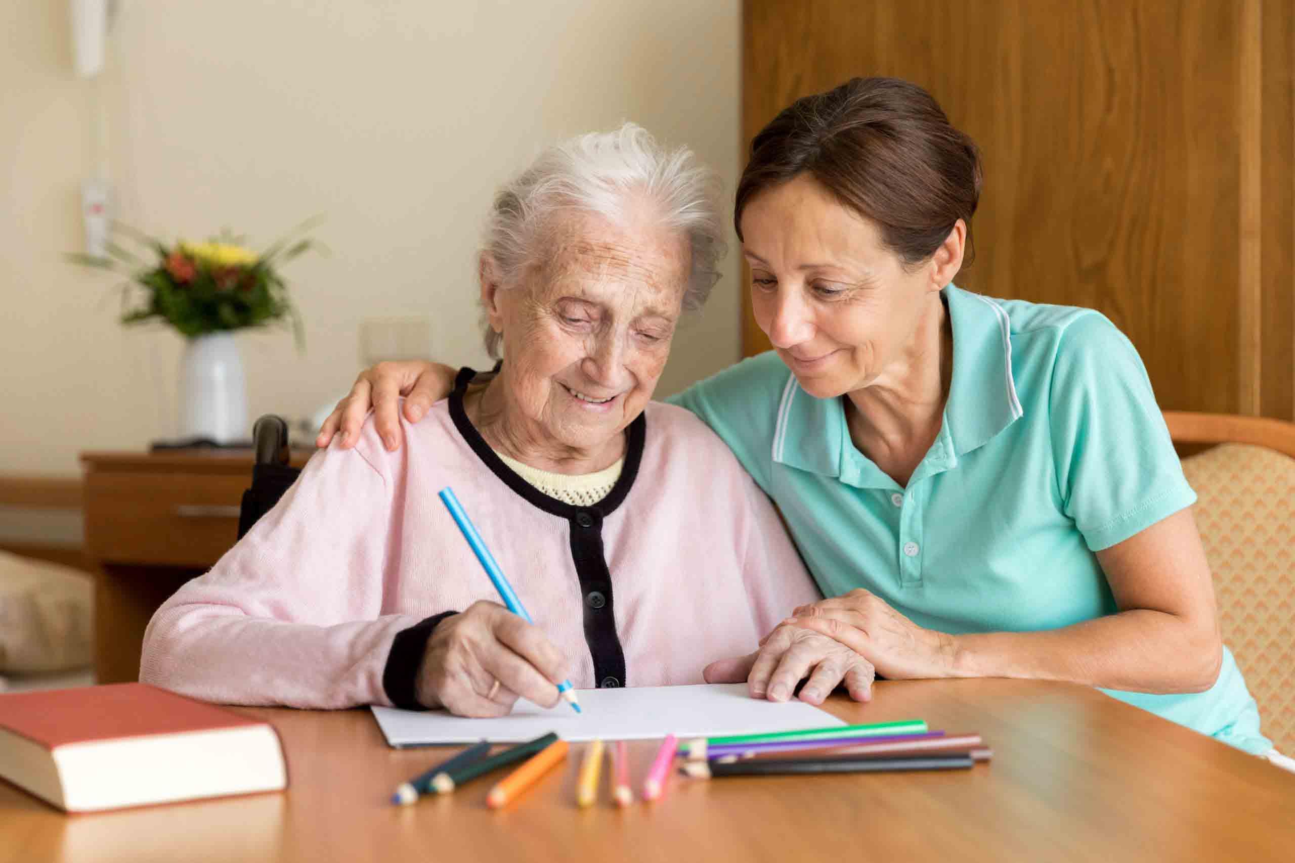 پرستاری از سالمند آلزایمری | مرکز خدمات پرستاری پارسیان مهرپرور