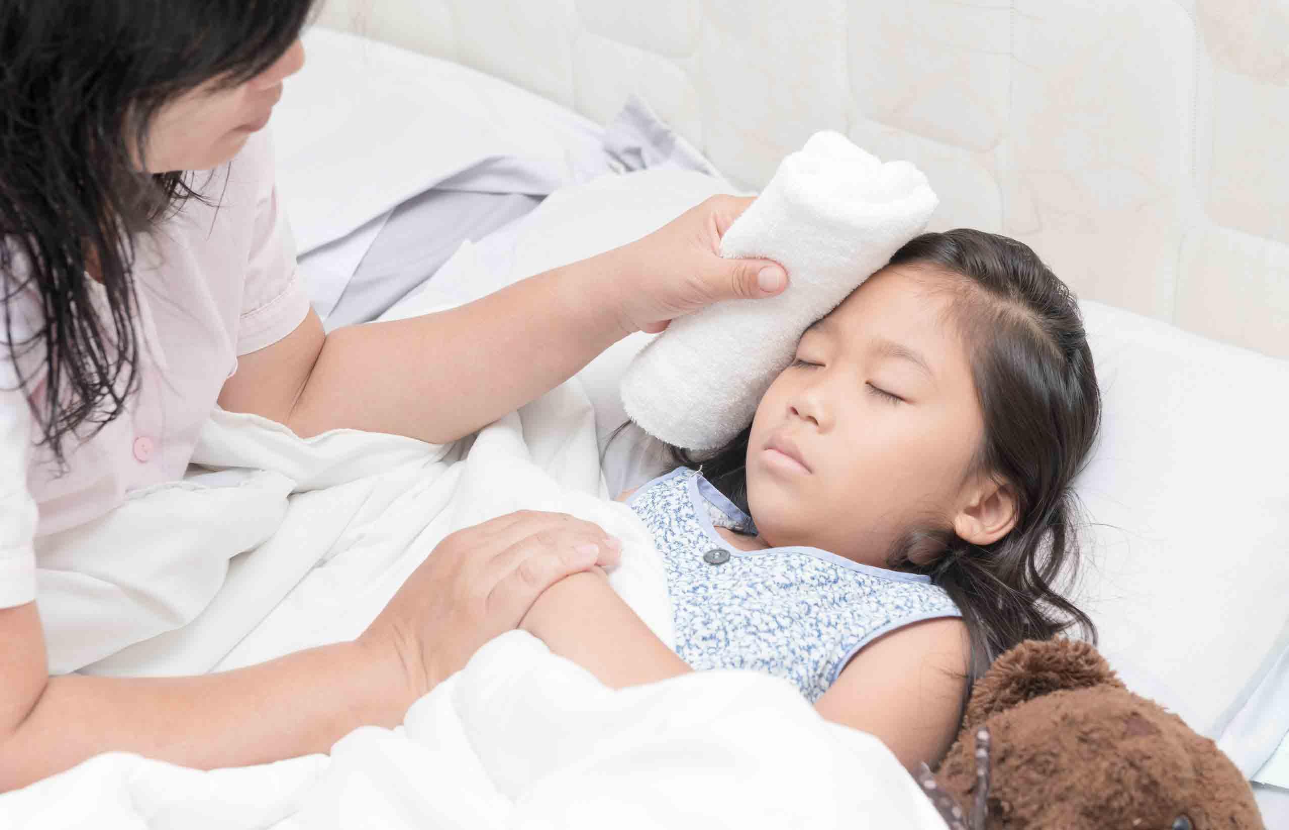 درمان تب و لرز در خانه با آب سرد | مرکز خدمات پرستاری در منزل مهرپرور