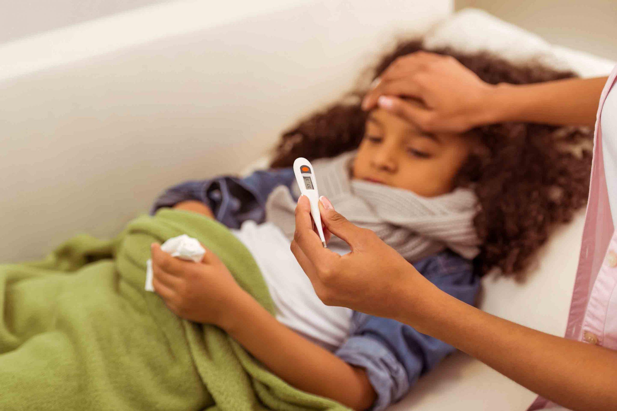 درمان تب و لرز در کودکان | خدمات پرستاری در منزل