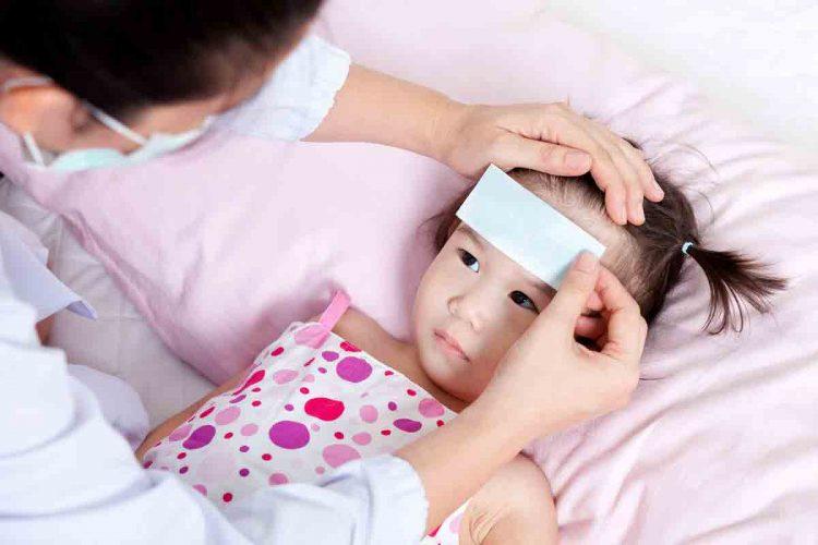 درمان تب کودکان | مرکز خدمات پرستاری پارسیان مهرپرور