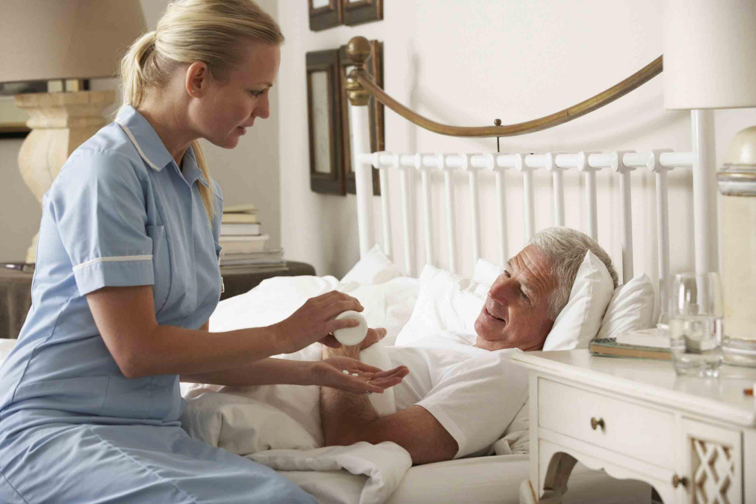 پرستار برای بیمار در منزل | مرکز پارسیان مهرپرور